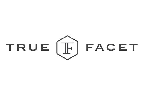 True Facet logo.